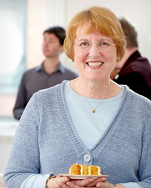 Lynn Hill, founder of Clandestine Cake Club