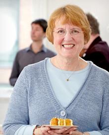 Lynn Hill, founder of Clandestine Cake Club