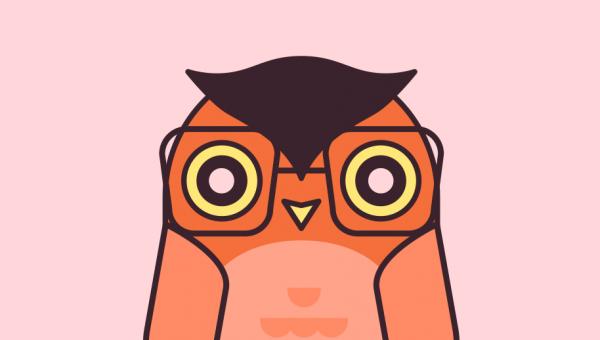 Steven King as an Owl