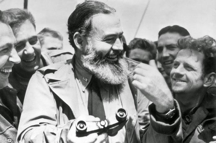 Hemingway on D-Day