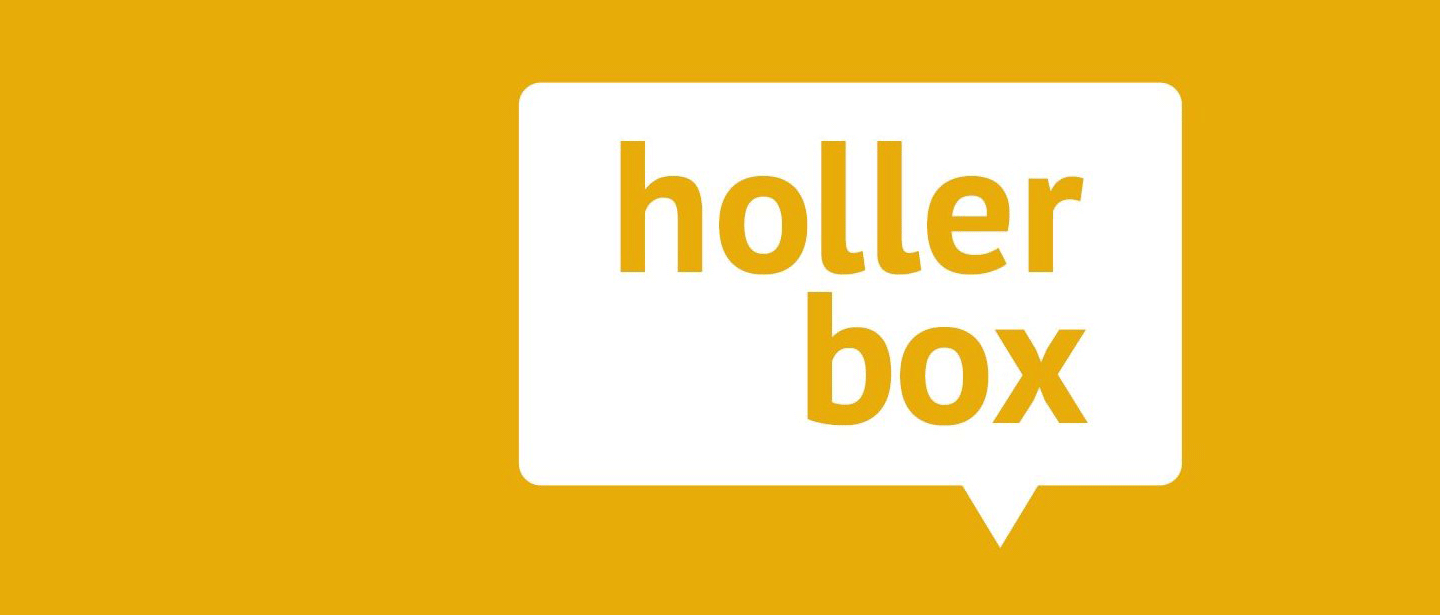 Holler box logo