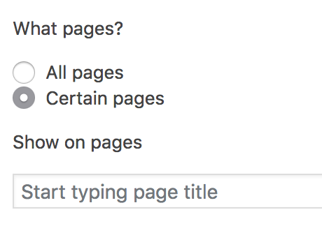 What pages?
