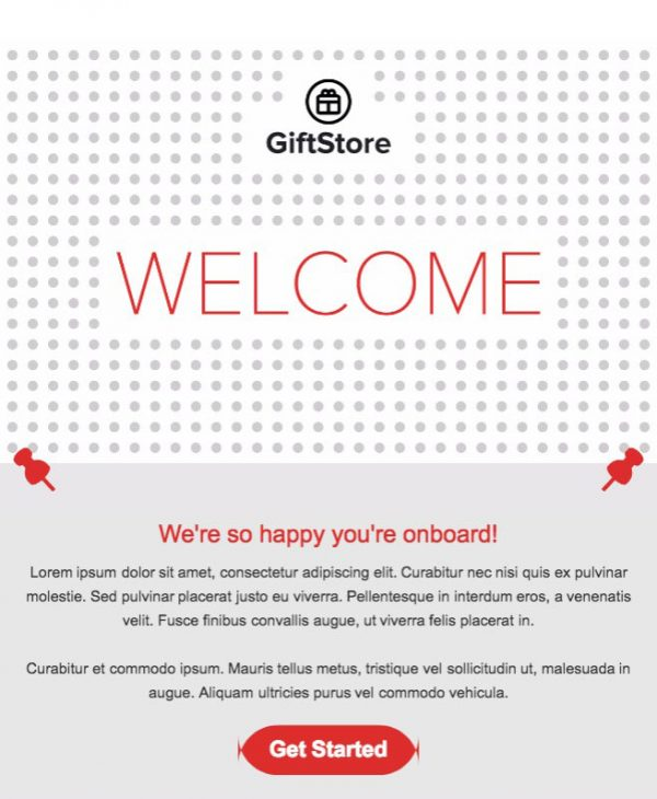 gift email template