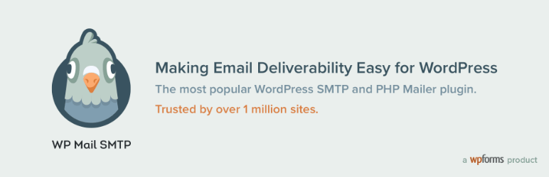 wp mail smtp plugin banner