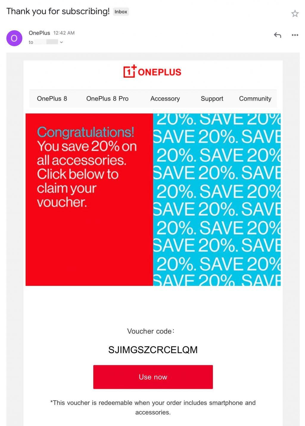 oneplus coupon code