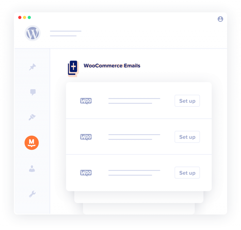 illustration of automated WooCommerce emails