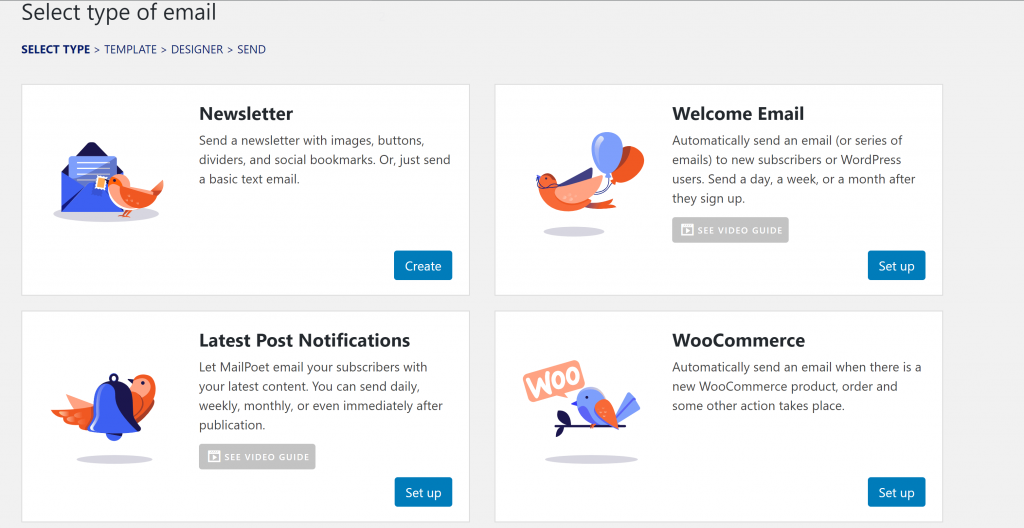 How to Ask for Customer Feedback by Email: MailPoet Email Select