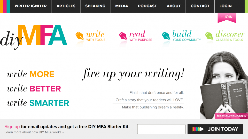 Email signup forms: DIY MFA sign up bar