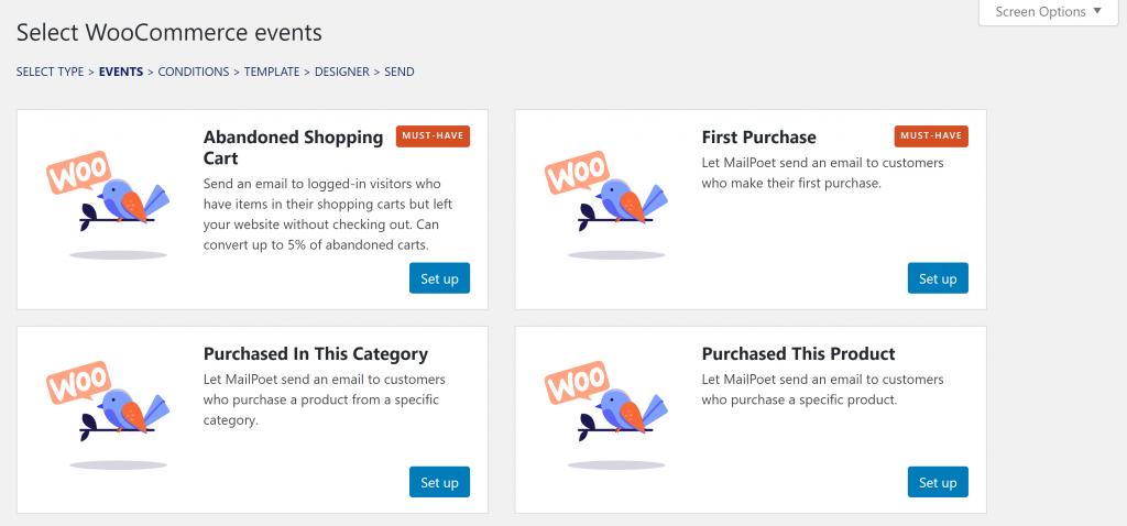 MailPoet WooCommerce automation