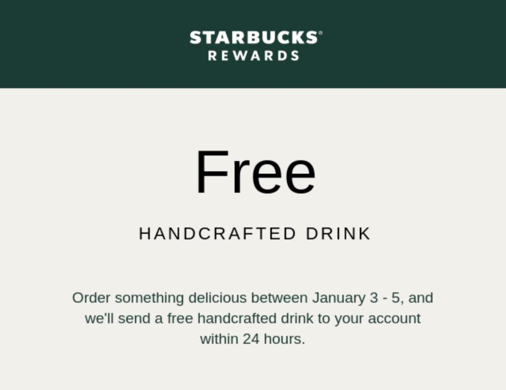 WordPress autoresponders: Starbucks free offer