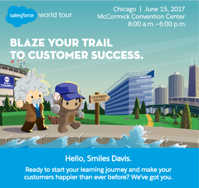 Salesforce email with personalization